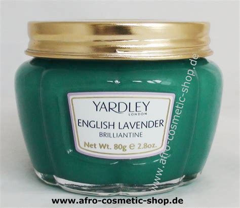 Pomade Lavender yardley lavender brilliantine 80 g afro cosmetic shop