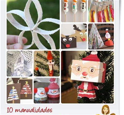 manualidades para decorar mi casa de navidad 10 manualidades de navidad para ni 241 os pequeocio