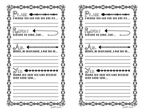 war room prayer journal template free printable joditt