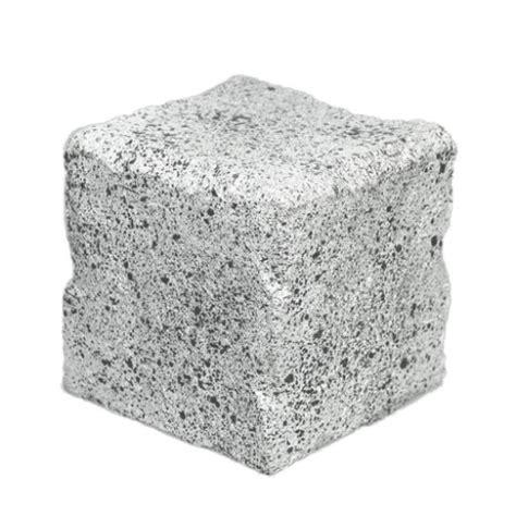 Square Rok concrete block cache container geocache niagara