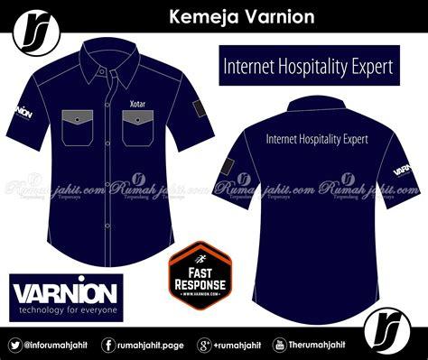 Kemeja Seragam Kerjabisa Di Bordir Sesuei Pesanan 1 kemeja pt varnion technology semesta mitra pengadaan seragam no 1 di indonesia