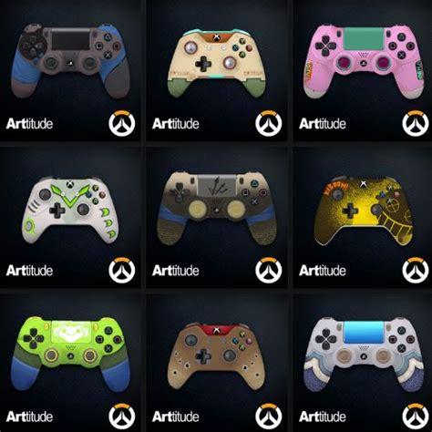overwatch announces  xbox  custom controllers