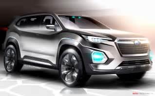 Suv Concept Subaru Viziv 7 Suv Concept Revealed At La Auto Show