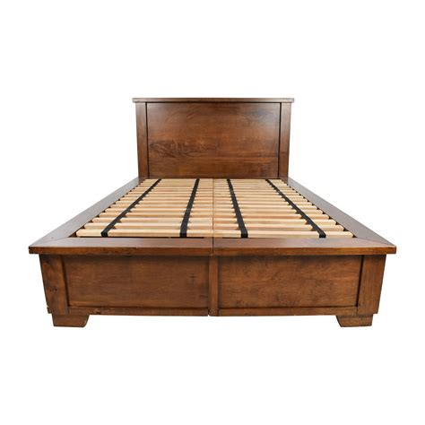 pottery barn bed frame pottery barn platform bed pottery barn universal platform bed bedroom furniture beds