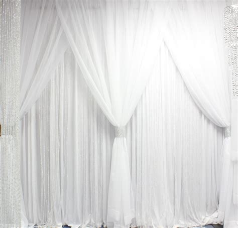 white curtain backdrop white curtain background