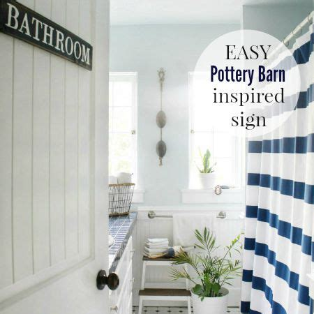 pottery barn inspired easy pottery barn inspired sign