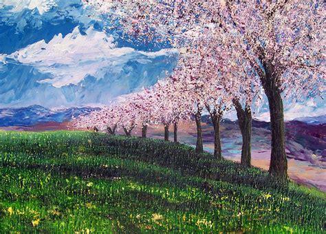 immagini paesaggi fioriti immagini alberi fioriti primavera â ð anzoni di natale