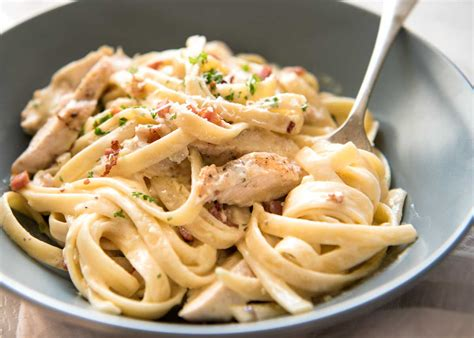 Pork And Pasta by Chicken And Bacon Pasta Recipetin Eats