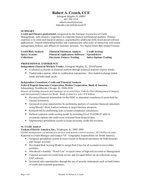 R Resume by Creech R Resume 101710
