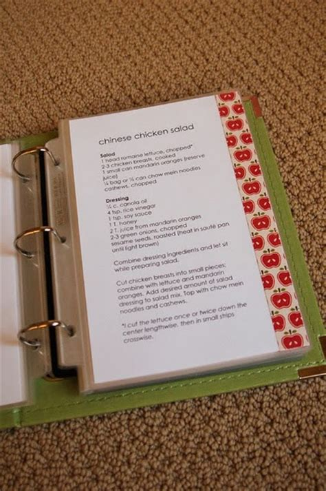 recipe book templates crafts to make pinterest