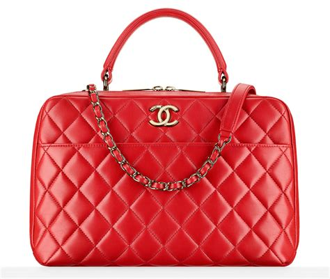 gorgeous red suitcases check out 59 of chanel s beautiful fall 2016 bags
