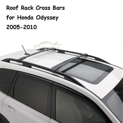 2x aluminum car roof rack cross bar luggage carrier fit
