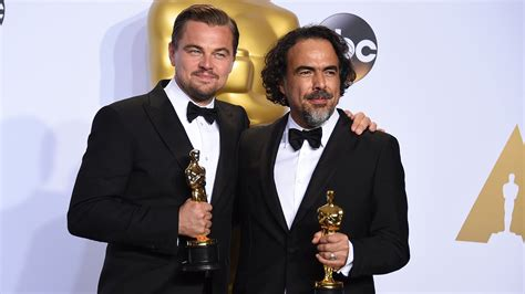 Oscars And Leo by Oscars 2016 Mexican Filmmakers Take Home Big Awards Again