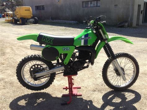 restored vintage motocross bikes for sale 1981 kawasaki kx125 vintage motocross dirt bike nicely