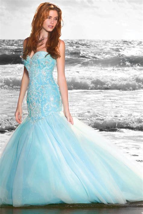 Labito Da Sposa Azzurro Per Nozze Da Fiaba The  Ee  Dress Ee