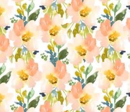 flower pattern eshop portadown peach row watercolor flower pattern fabric