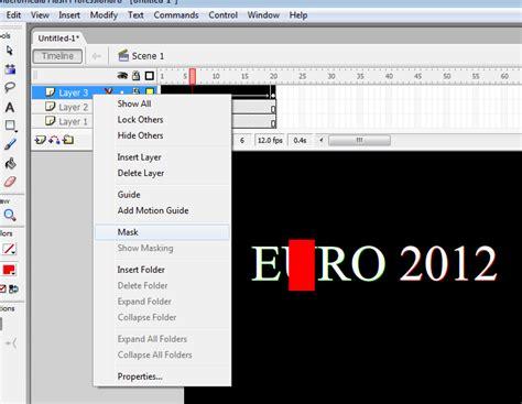 membuat video animasi text membuat animasi text berjalan euro 2012 computer and
