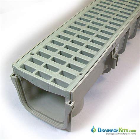 nds pro series 5 drain kit w plastic grate drainagekits
