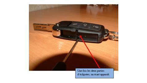 comment ouvrir telecommande vw la r 233 ponse est sur