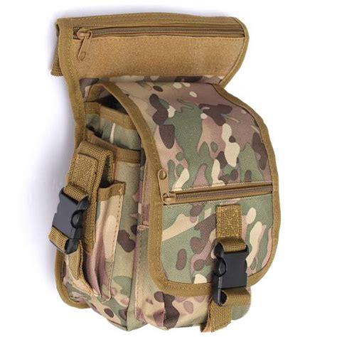 Best Tas Cowo Impor Waist Tactical Bag Waterproof Untuk 4 fishing bag waist bag fishing tackle bag tactical belt pouch bag sale banggood