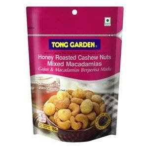 Tong Garden Honey Roasted Cashew Nuts Mixed Macadamias garden honey roasted cashew nuts mixed macadamias quot premium grade quot made in
