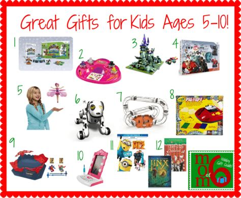 Great Gifts For - great gifts for ages 5 10 momof6