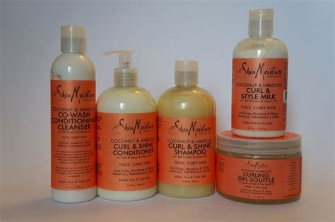 best shea moisture products for hair shea moisture coconut hibiscus line for curly hair
