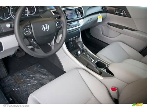 2013 Honda Accord Ex L Interior by Gray Interior 2013 Honda Accord Ex L V6 Sedan Photo