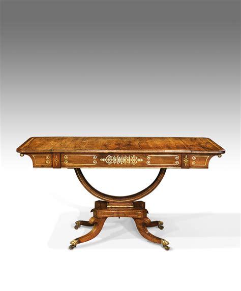 rosewood sofa table regency rosewood sofa table antique sofa table pedestal