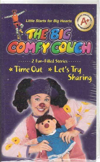 The Big Comfy Vhs by The Big Comfy Vhs 2004 Brand New Time Out Let