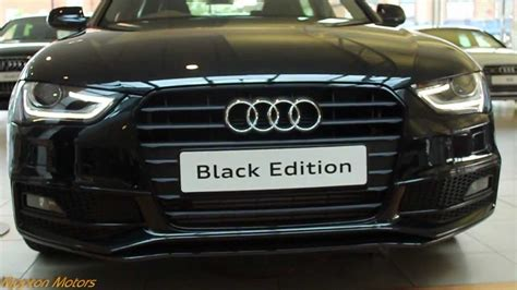 audi a4 black edition 2013 2013 audi a4 black edition