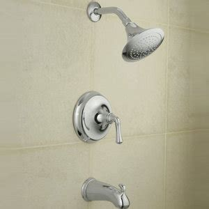 Forte Shower kt10275 4a cp forte traditional tub shower faucet trim