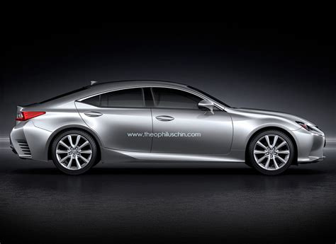 lexus rc four door coupe rendering photo gallery autoblog