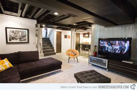 modern contemporary basement design build remodel modern 15 modern and contemporary living room basement designs