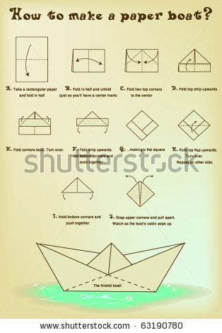 How To Make Paper Ship Origami - best 25 paper boats ideas on