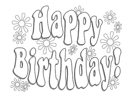 coloring pages happy birthday sister happy birthday sister coloring pages freecoloring4u com