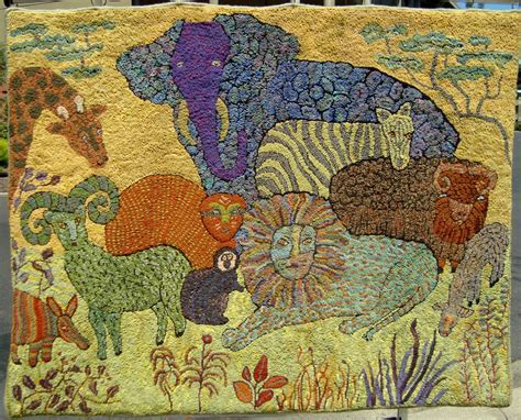 wool hooked rug kits hooked rug kits