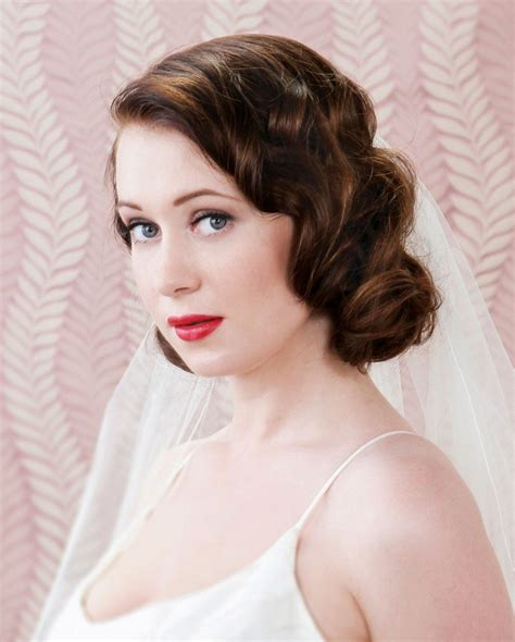for great gatsby hair hairstyles women medium hair the ultimate great gatsby wedding hair tutorial weddingbells