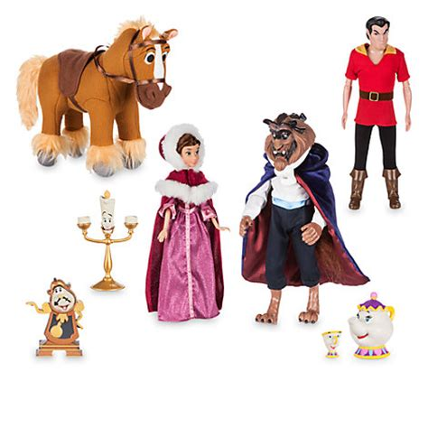 and the beast deluxe doll set