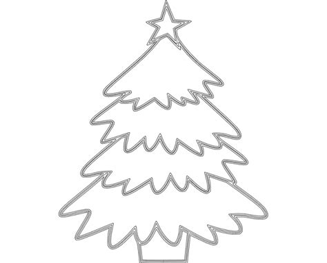 christmas dxf free tree dxf file free 3axis co