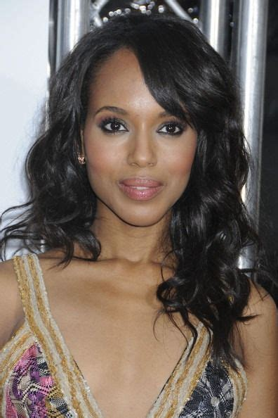 kerry washington hair pin up hairstyle trld style by kerry washington pinterest