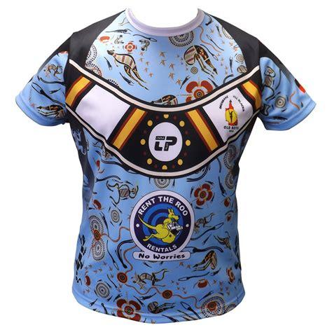 Bros Bisban Handmade custom rugby league jersey gallery play