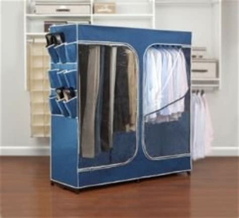 Buy Portable Closet by Rubbermaid Clothes Closet Portable Closet 60 Inch Blue