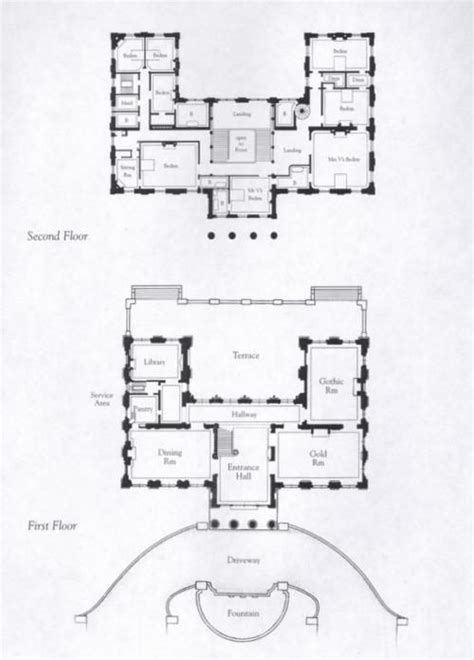 Easton Neston Floor Plan by Marble House Floor Plan Gilded Age Newport Pinterest