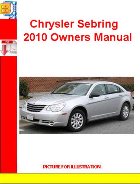 car repair manuals online pdf 1995 chrysler sebring navigation system chrysler sebring 2010 owners manual download manuals technical