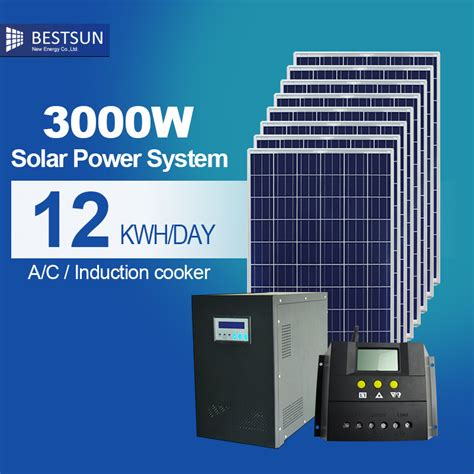 solar panel for home use bfs 3000w s bestsun 3kw solar power system price with low configuration for home use panel solar