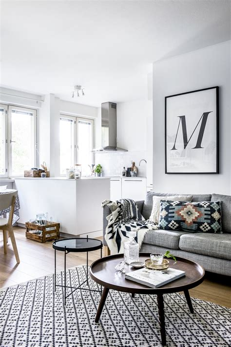 scandinavian livingroom bright nordic style apartment by laura seppanen