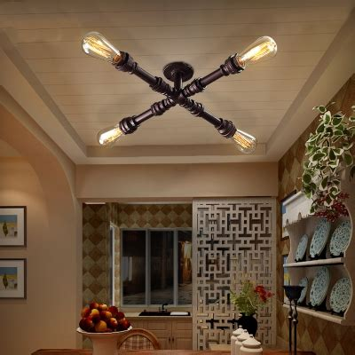 rubbed bronze semi flush ceiling light rubbed bronze 4 light led semi flush mount ceiling