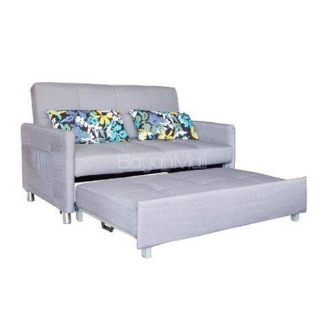 sofa bed with pull out bed 3021 grey pull out sofa bed