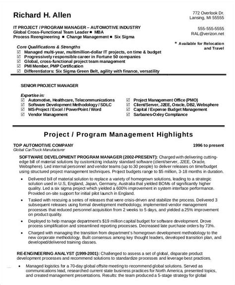 Budget Manager Resume by 40 Free Manager Resume Templates Pdf Doc Free
